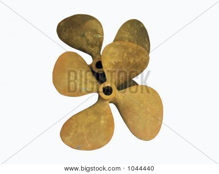 Antique Bronze Boat Propellers
