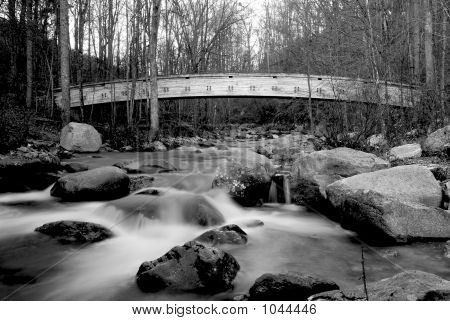 Bridge Over Stream