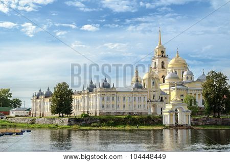 Nilo-stolobensky Monastery in Tver region, Russia