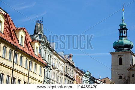 Havelska Street Near Havel Church And Farmer Market
