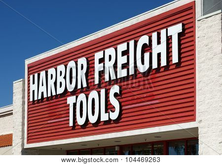 Harbor Freight Tools Retail Store