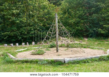 Jungle Gym In A Playground