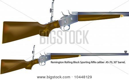 Rolling Block Rifle A