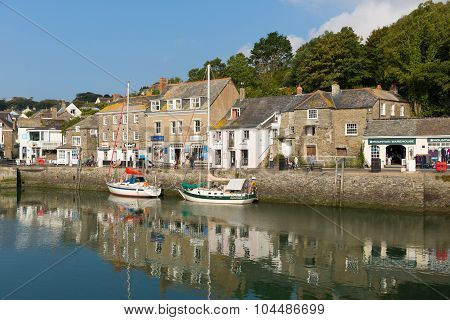 Padstow North Cornwall England UK beautiful late summer sun and calm fine weather