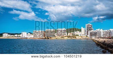 San Antonio De Portmany. San Antonio (also Sant Antoni) Is The Second Largest Town In Ibiza. Baleari