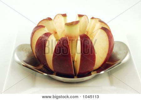 Cored Apple