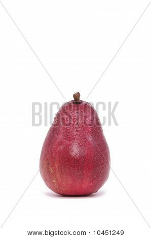 Single Red Pear