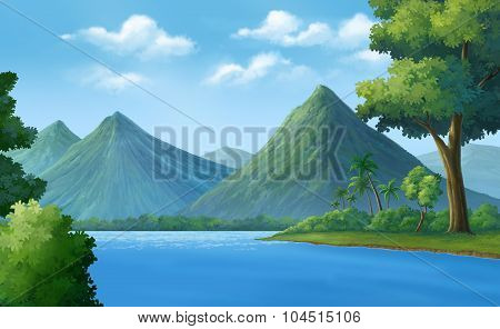 Rivers, Mountains, Forests