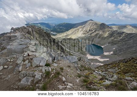 Rila Mountain, Ledenoto (Ice) lake, Bulgaria