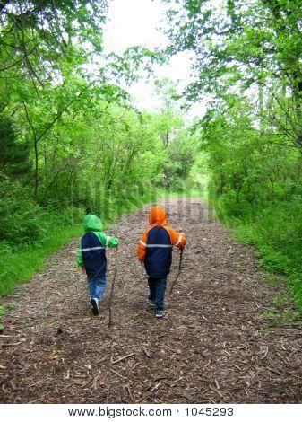 Boys On Path