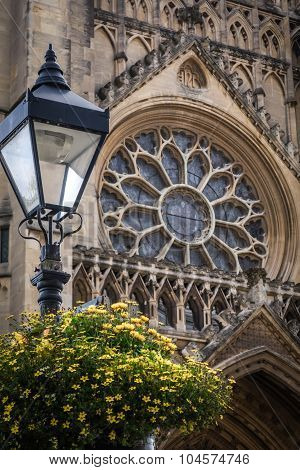Bristol Cathedral detail