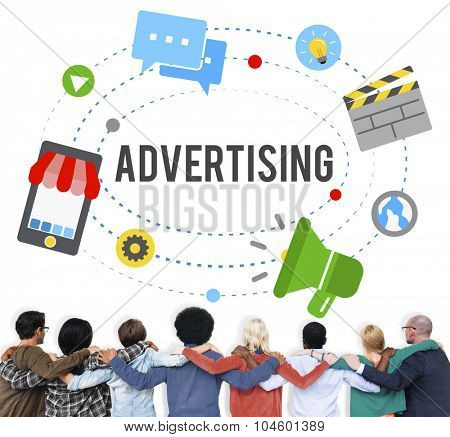 Advertising Commercial Marketing Branding Concept