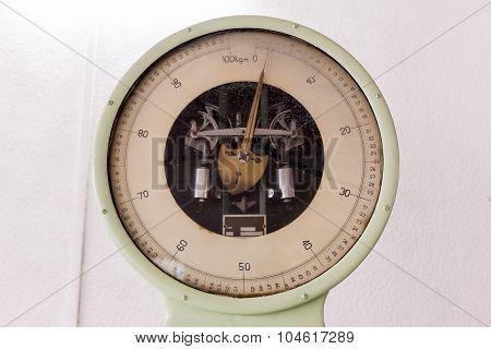 Vintage Weighing Machine