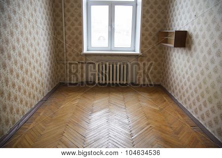 Old room before renovation