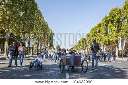 Velocars - Journee Sans Voiture, Paris 2015