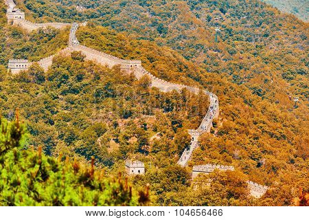 Great Wall Of China, Section
