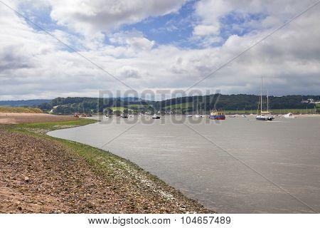 The Exe Estuary, Devon, England