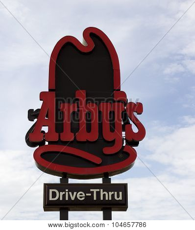Arby's Restaurant Sign