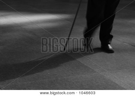 Walking With Stick