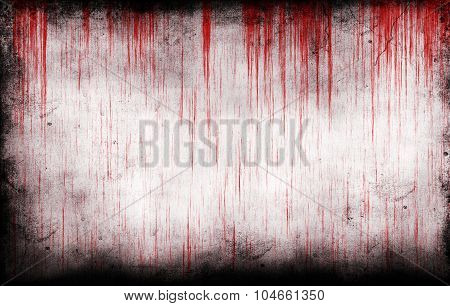 Bloody Grungy Wall