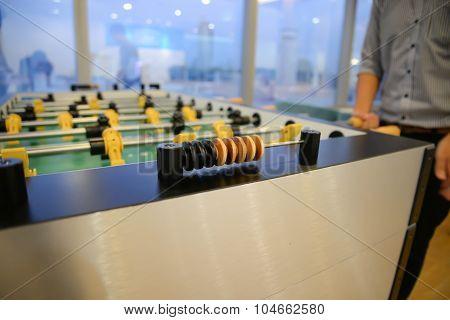 Table Football - Focus To Score Mark