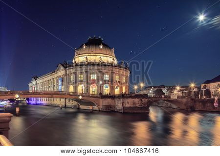 The Bode Museum on the Island in Berlin