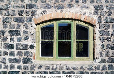 Window In A Ironwork