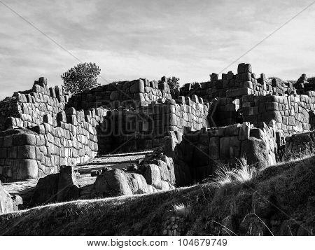 Sacsayhuaman fort near Cusco