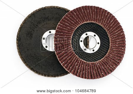 Abrasive Flap Grinding Disc And Abrasive Vulcanite Discs