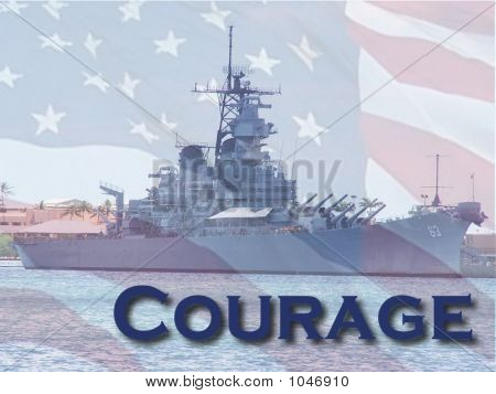 The American Spirit Of Courage