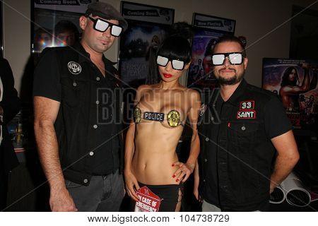 LOS ANGELES - OCT 9:  Bai Ling, Manimal at the
