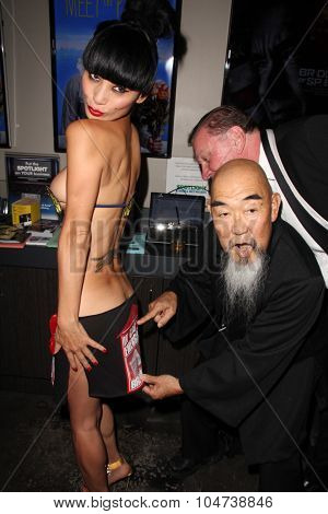 LOS ANGELES - OCT 9:  Gerald Okamura, Bai Ling at the