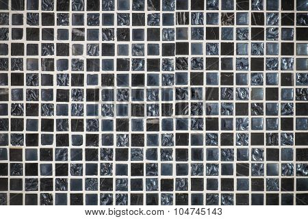 Mosaic tine texture, dark tone