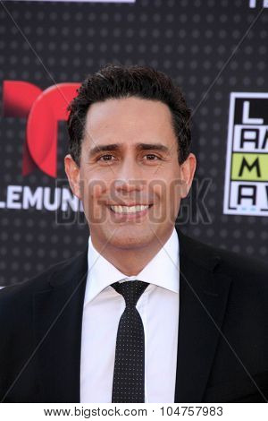 LOS ANGELES - OCT 8:  Camilo Montoya at the Latin American Music Awards at the Dolby Theater on October 8, 2015 in Los Angeles, CA