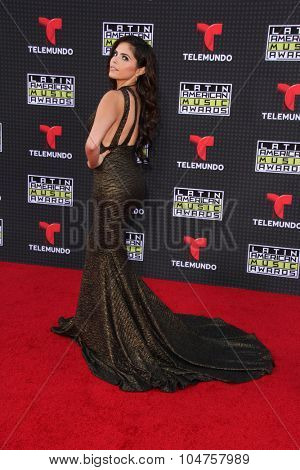 LOS ANGELES - OCT 8:  Yarel Ramos at the Latin American Music Awards at the Dolby Theater on October 8, 2015 in Los Angeles, CA
