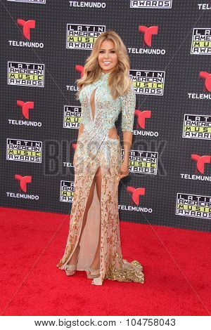 LOS ANGELES - OCT 8:  Gloria Trevi at the Latin American Music Awards at the Dolby Theater on October 8, 2015 in Los Angeles, CA