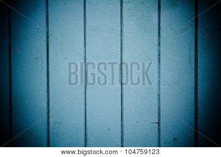 Blue Wooden Panels