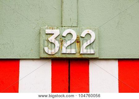 322 With Stripe Pattern