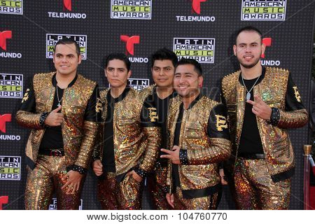 LOS ANGELES - OCT 8:  Enigma Norteno at the Latin American Music Awards at the Dolby Theater on October 8, 2015 in Los Angeles, CA