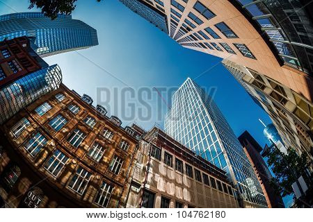 Skyscrapers Of Frankfurt Am Main