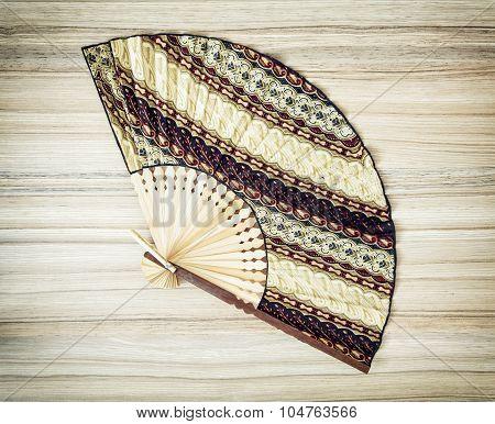 Traditional Eastern Fan