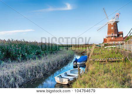 Cley Mill In Norfolk