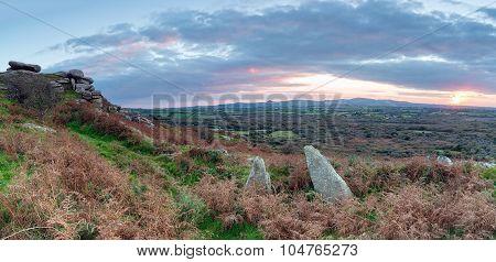 Autumn On The Moors Panorama
