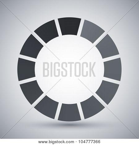 Loading Icon, Vector Illustration
