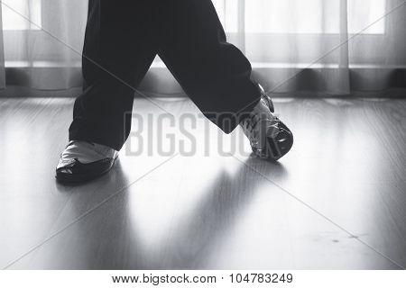 Shoes Feet Legs Male Ballroom Dance Teacher Dancer