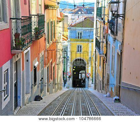 Lisbon Funicular Bica