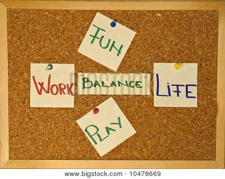 Work Life Balance With Fun An Play