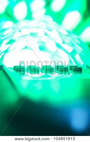 Dj Console Mixing Desk Ibiza House Music Party Nightclub