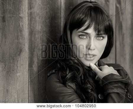 Beautiful portrait Image of a beautiful woman outdoors
