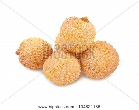 Asian Fruit Lichee Isolated